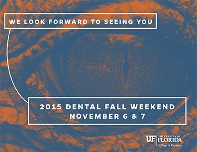 2015 Dental Fall Weekend
