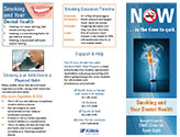 Smoking and your dental health brochure