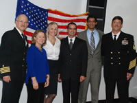 Three Class of 2012 Students Join Navy