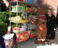 Holiday giving at the college
