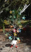 One of the Holiday Giving Trees that was set up in UFCD for the Wish Upon a Star program.