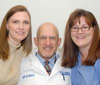 Telka Jackson, Dr. Boyd Robinson, and Cassandra Dorsey
