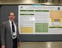 Dr. Jeff Meral, a private practitioner from Coral Springs, Fla., presents his poster.