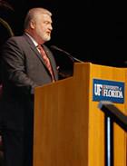 Larry Nissen, D.D.S., president of the Florida Dental Association.