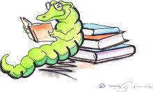 Gator Bookworms graphic