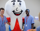 Mighty Molar with D.M.D. students