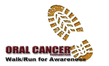 Oral Cancer Walk Run