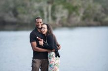Jenna Shuman and Stephen Obeng